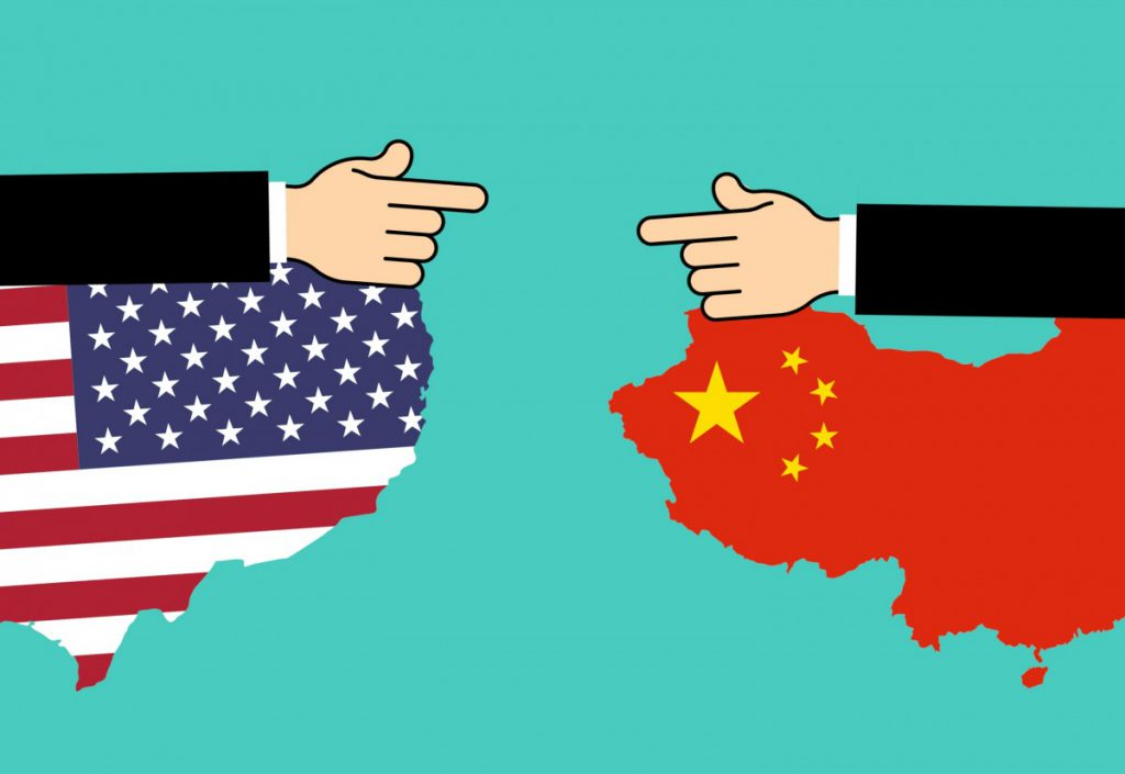 美中貿易戰(圖/pxhere)