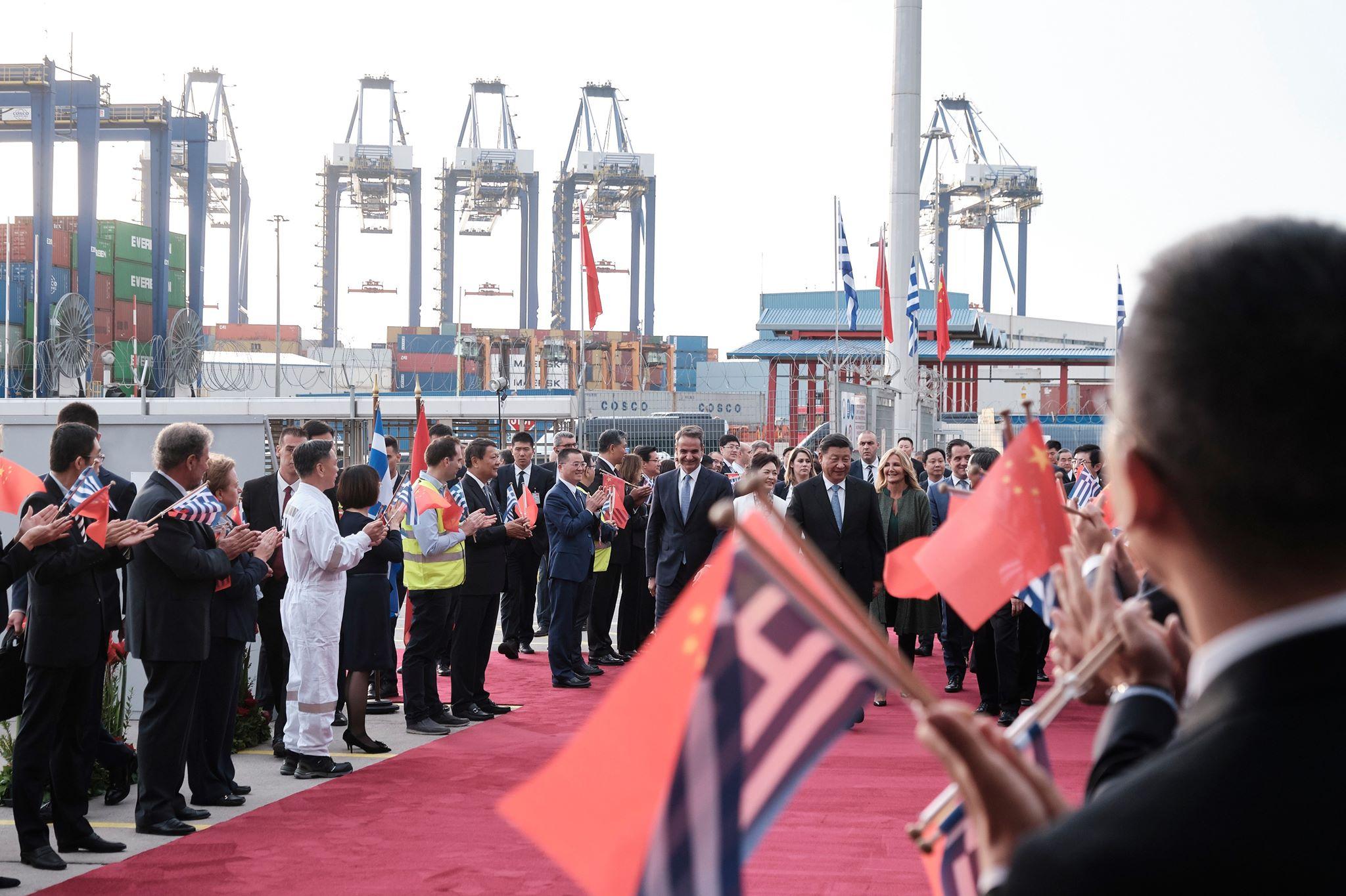 習近平訪希臘 雙邊簽署多項投資協議(圖/希臘總理官網)