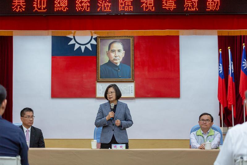 總統日前視導台東縣警察局