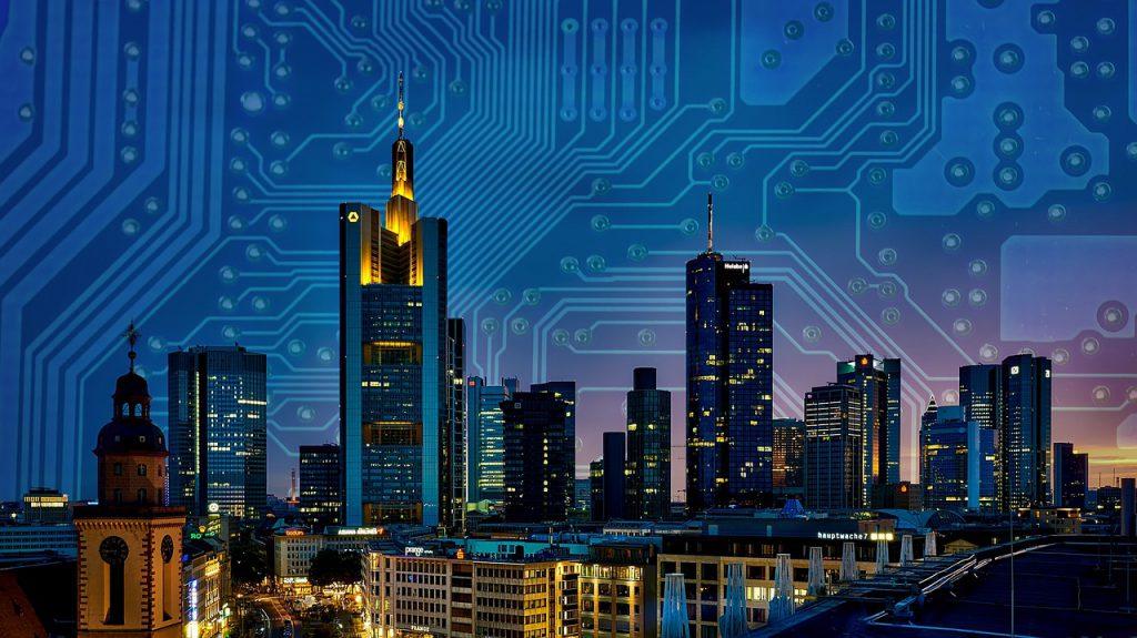 智慧城市(圖/Pixabay)