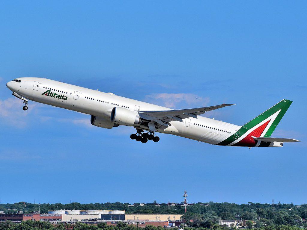 義大利航空(圖/Adam Moreira/CC BY-SA 4.0)