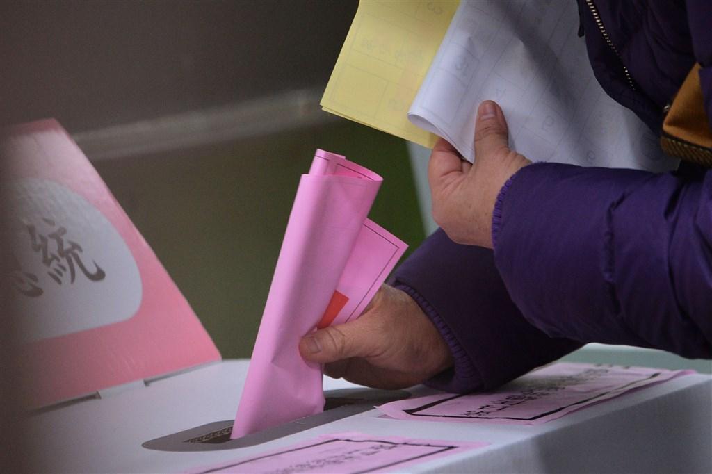 中選會之投票示意圖