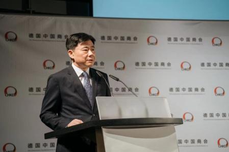 中國駐德國大使吳懇(圖/中國商務部)