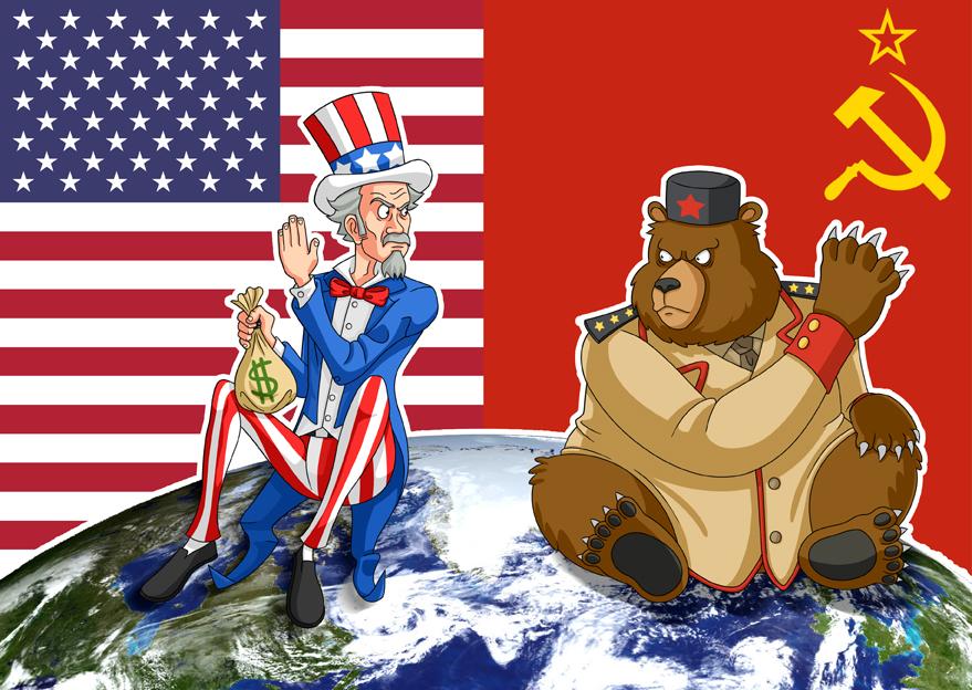 二次世界大戰結束後,以美國為主的西方國家(資本主義)與蘇聯(社會主義)及其所建立的東歐附庸國,兩大陣營相互對立(圖/ Carlos3653/CC BY-SA 4.0)