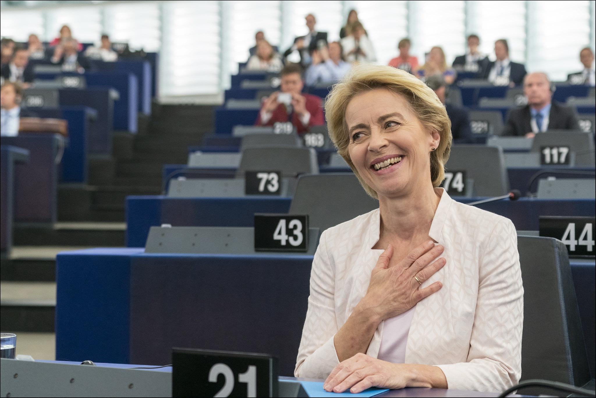 歐盟執委會新任主席馮德萊恩(Ursula von der Leye)(圖/European Parliament/CC BY 2.0)jpg