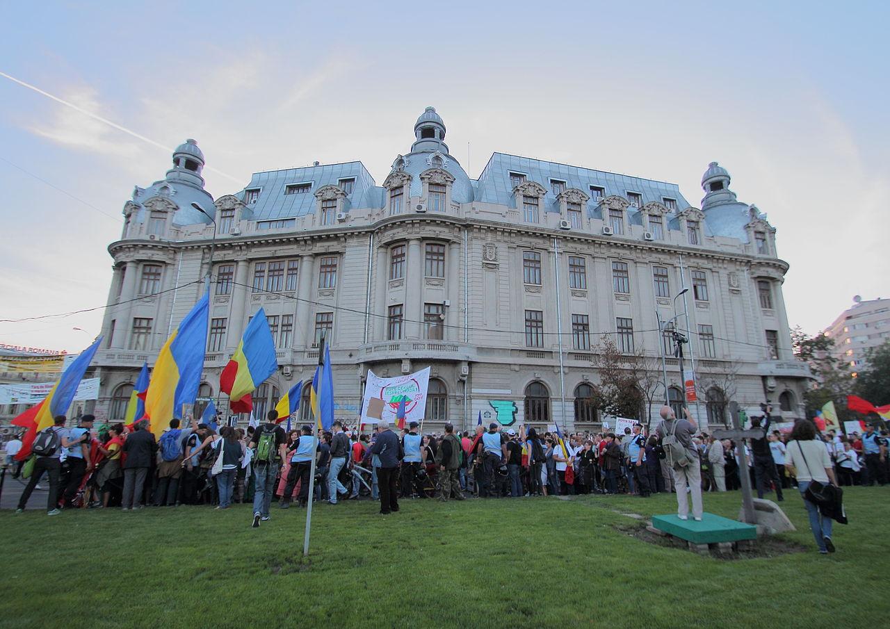 2013年,羅馬尼亞反政府的社會運動(圖/CristianChirita/CC BY-SA 3.0)