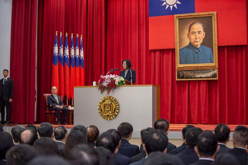 總統出席調查局結業典禮2