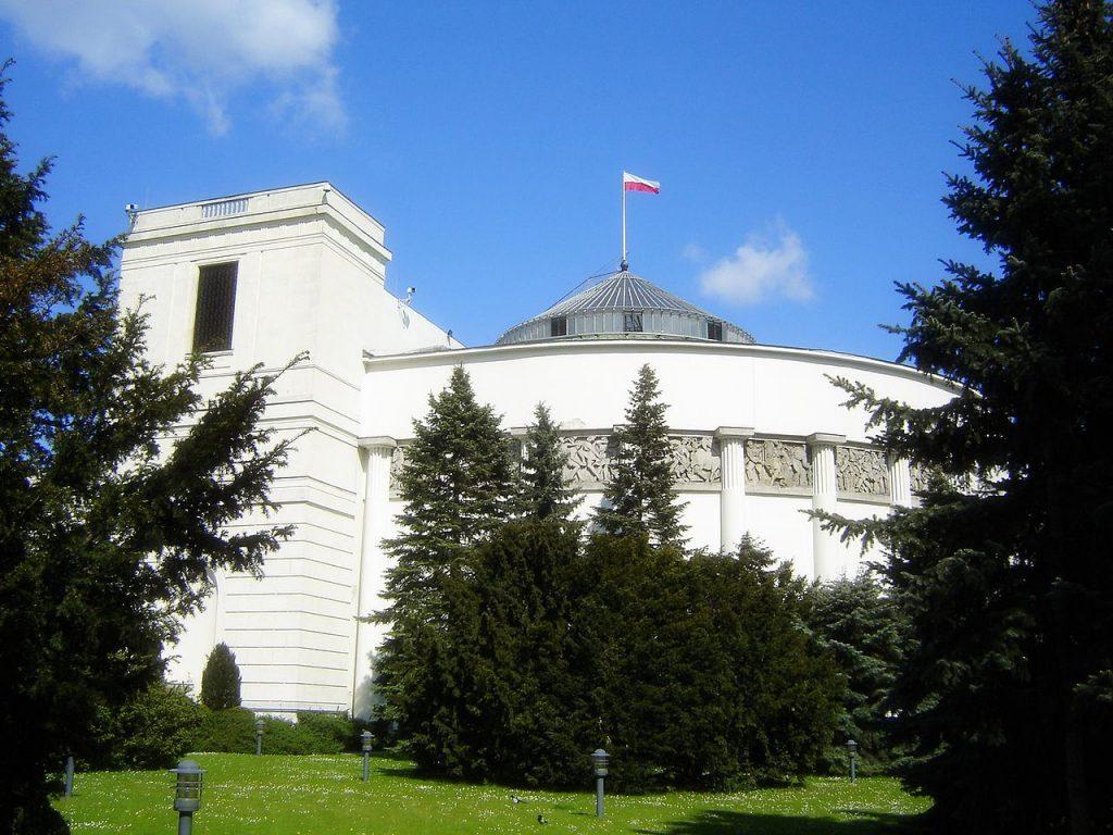 波蘭眾議院(圖/Kpalion/CC BY-SA 3.0)