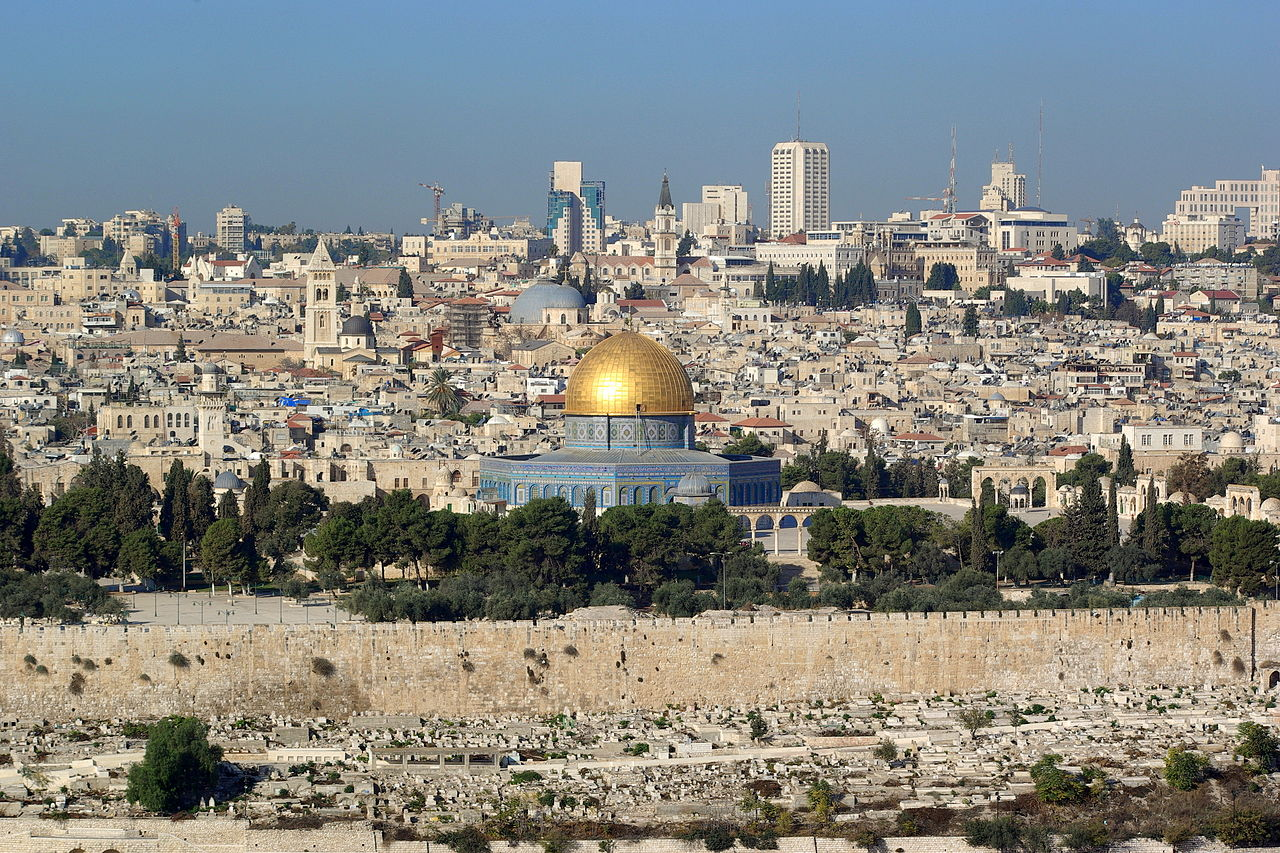 耶路撒冷(圖/Berthold Werner/public domain)