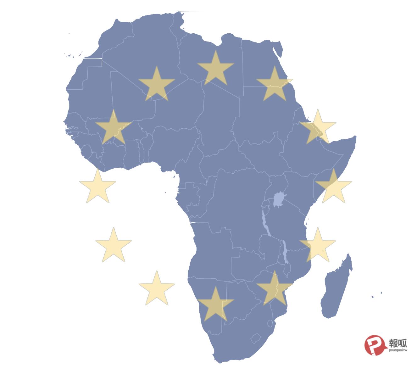 彼此還眼:非洲各國與西方國家交惡
