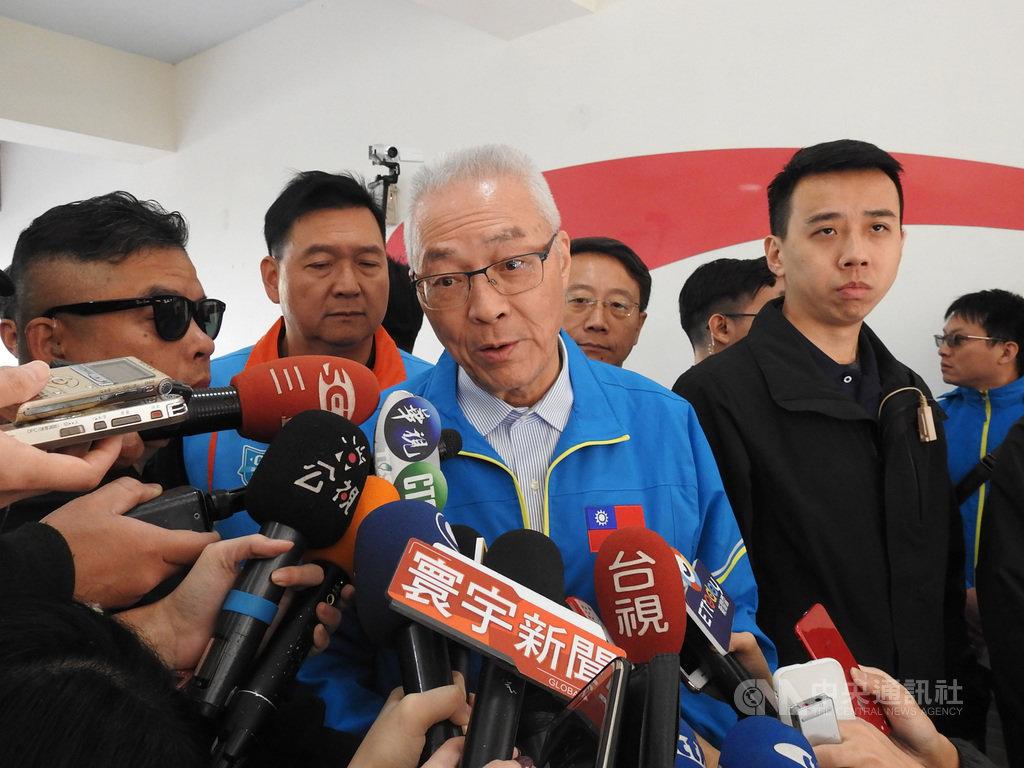吳敦義表示外交部處置失當應檢討。