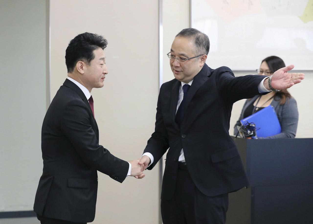 日、韓恢復貿易出口管理對話機制(圖/KYODO Kyodo.達志影像.路透社)