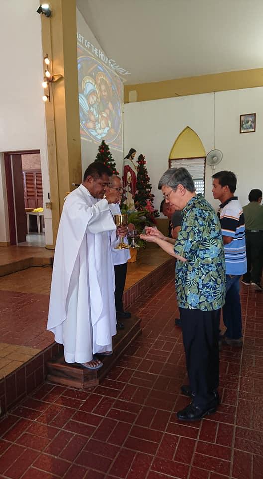 副總統出訪帛琉為兩國祈禱