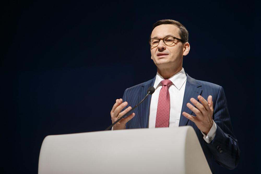 波蘭總理莫拉維茨奇 Mateusz Morawiecki(圖/Kancelaria Premiera/公共領域)