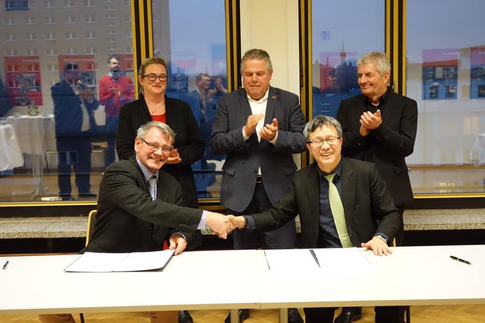 台德雙方簽立轉型正義合作意向書。