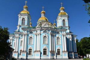 俄羅斯聖彼得堡聖尼古拉海員主教座堂(圖/all-free-photos/CC BY-SA 2.5)