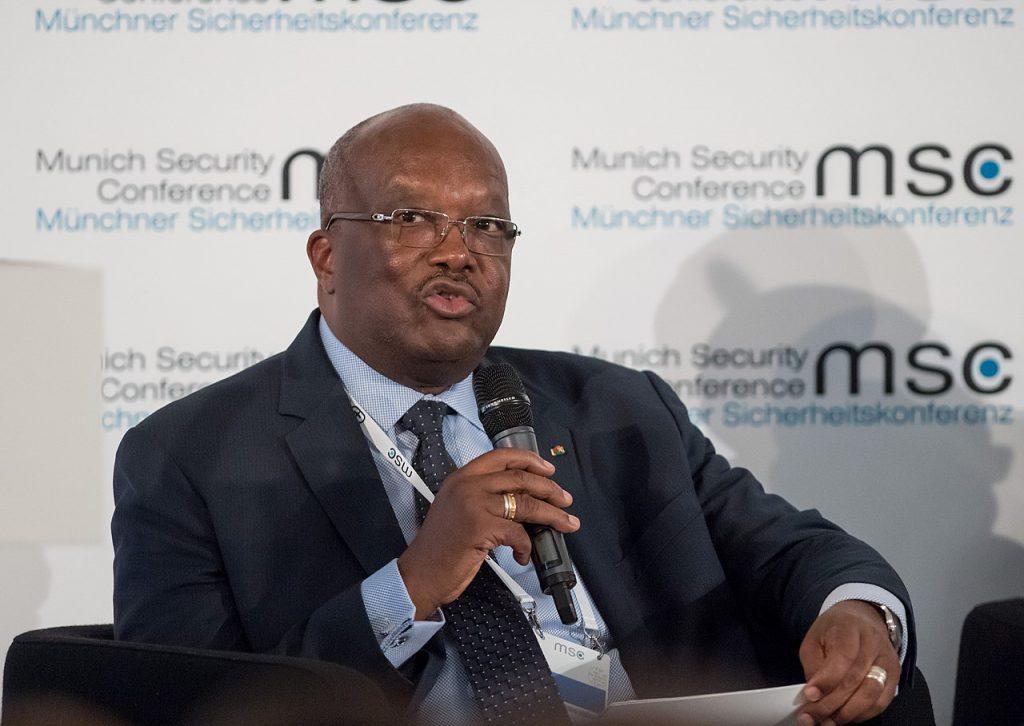 布吉納法索總統羅克‧馬克‧克里斯蒂安‧卡波雷(Roch Marc Christian Kabore)(圖/Koch : MSC/CC BY 3.0 DE)