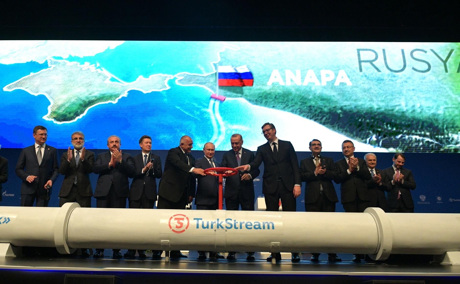土耳其和俄羅斯簽訂「土耳其溪」管線計畫(TurkStream)(圖/克里姆林宮)
