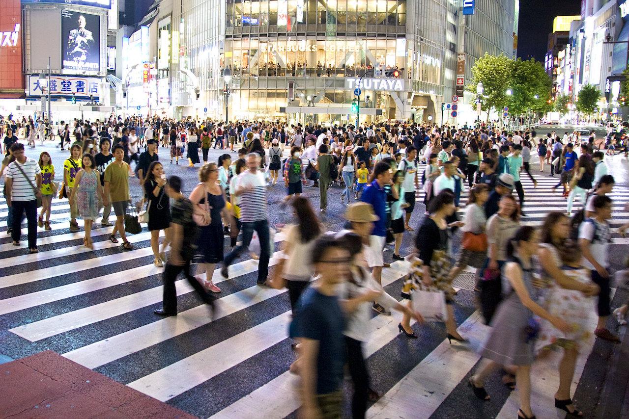 日本澀谷街頭(圖/Dimitry B./CC BY 2.0)