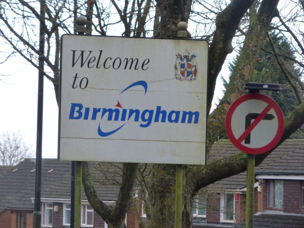 英國中部的伯明罕是個族裔組成複雜的城市(圖/Elliott Brown/CC BY-SA 2.0)