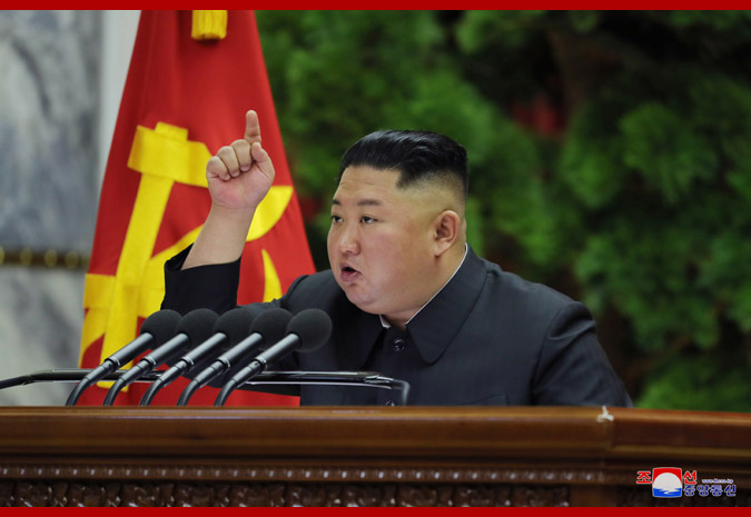 金正恩預告新戰略武器(圖/朝鮮中央通信)