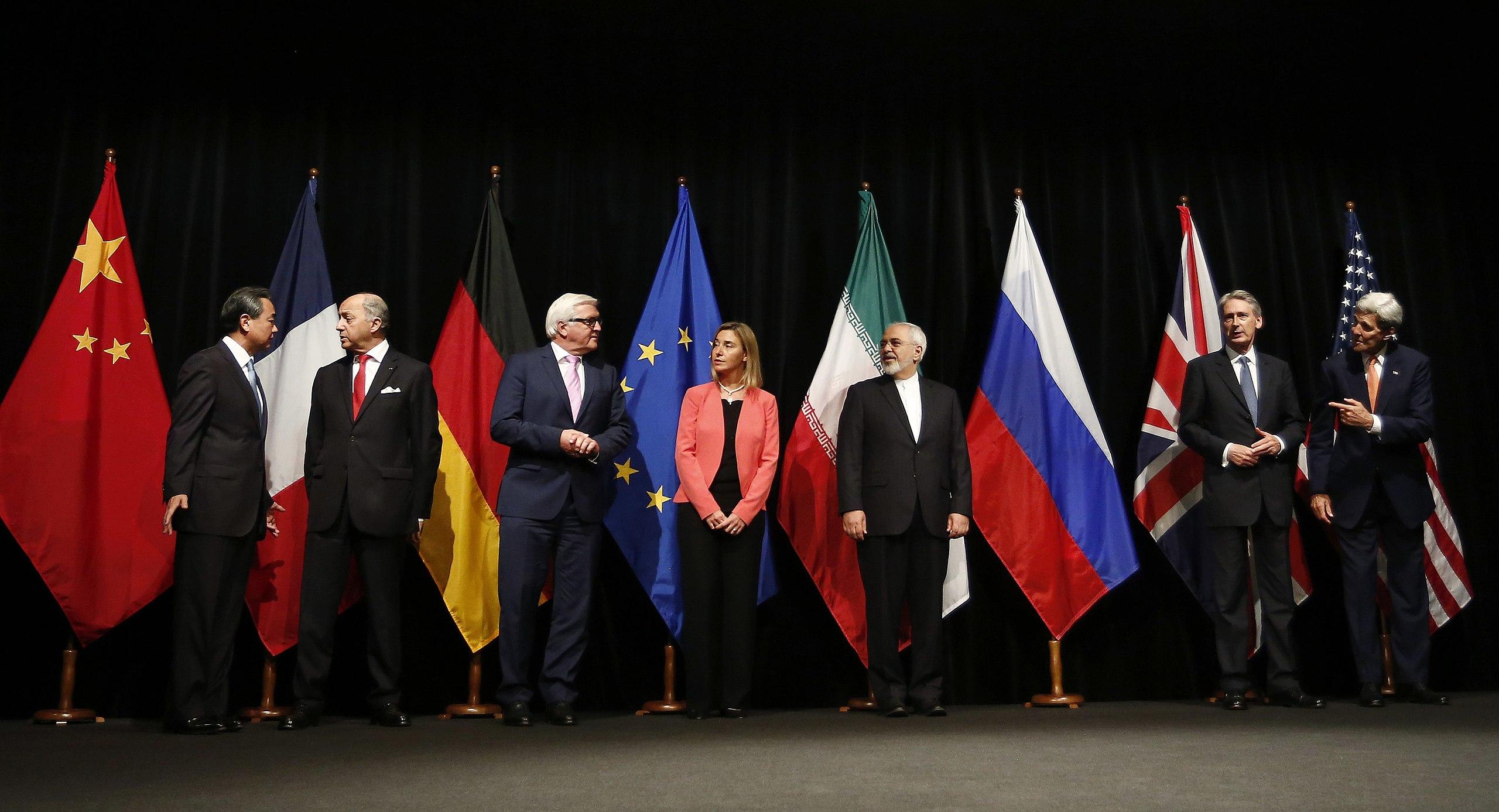 2015年伊朗核協議簽署(圖/Bundesministerium für Europa, Integration und Äusseres/CC BY 2.0)