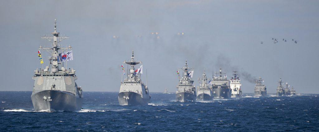 韓國海軍艦隊(圖/大韓民國國軍/CC BY-SA 2.0)