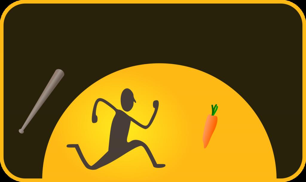 棒子跟胡蘿蔔(圖/Nevit Dilmen/CC BY-SA 3.0)