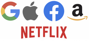 數位稅對象:Google、Apple、Facebook、Amazon 和 Netflix
