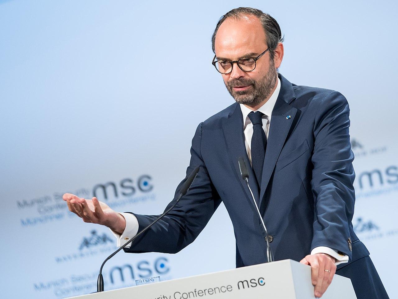 法國總理菲利普(Edouard Philippe)(圖/Mueller : MSC/CC BY 3.0 DE)