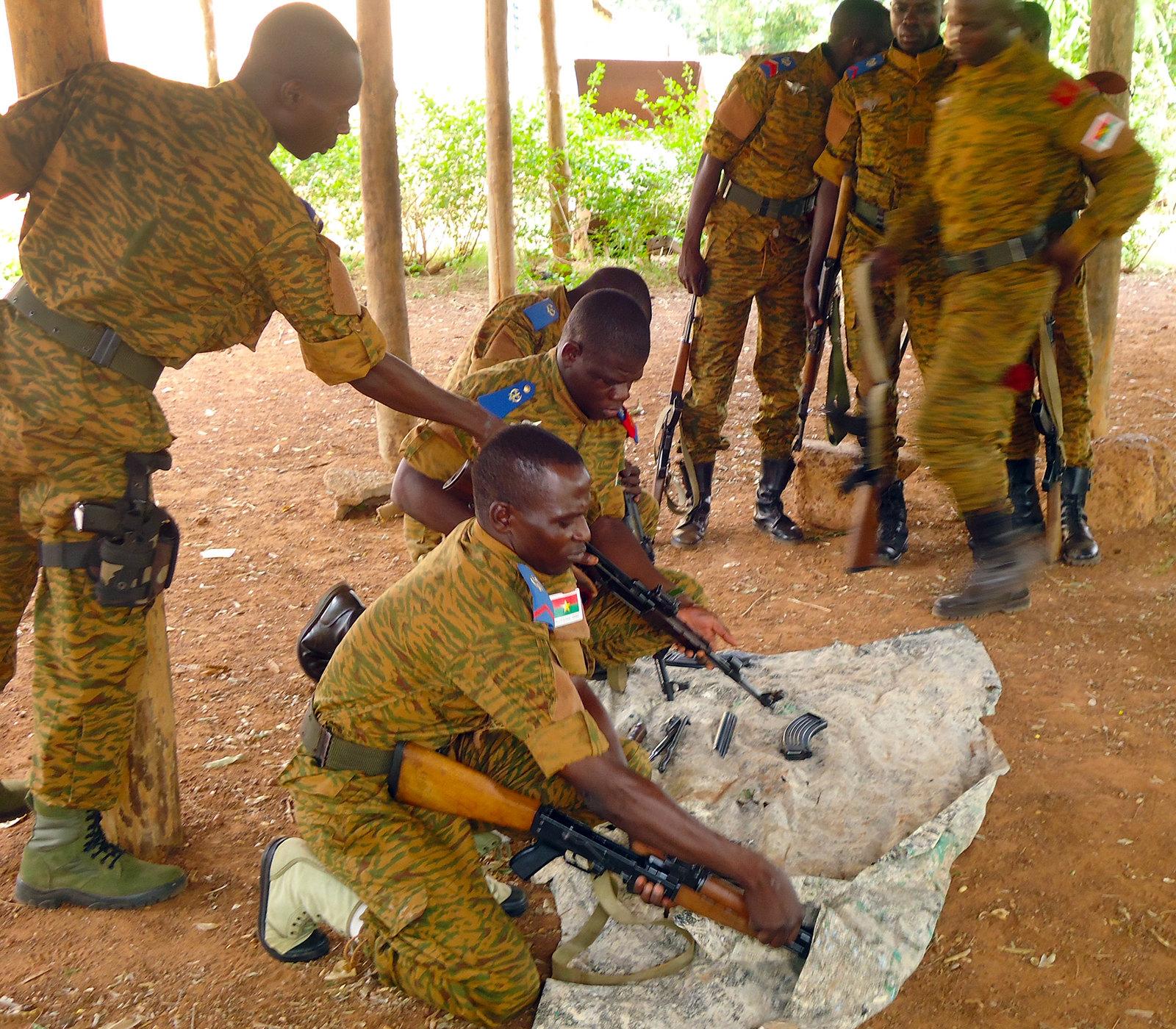 布吉納法索反恐部隊(圖/US Army Africa/CC BY 2.0)