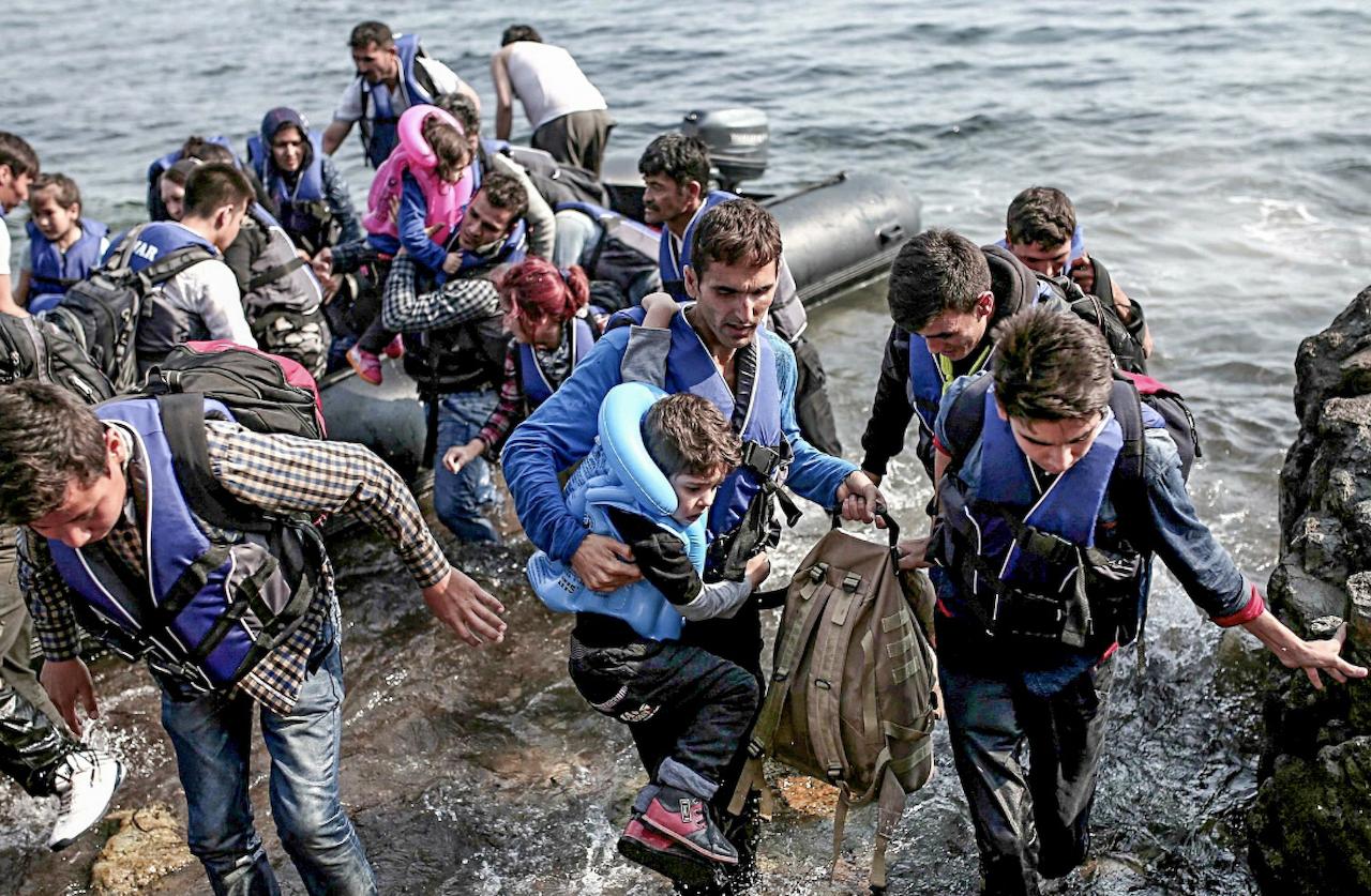 敘利亞難民(圖/Freedom House/公共領域)