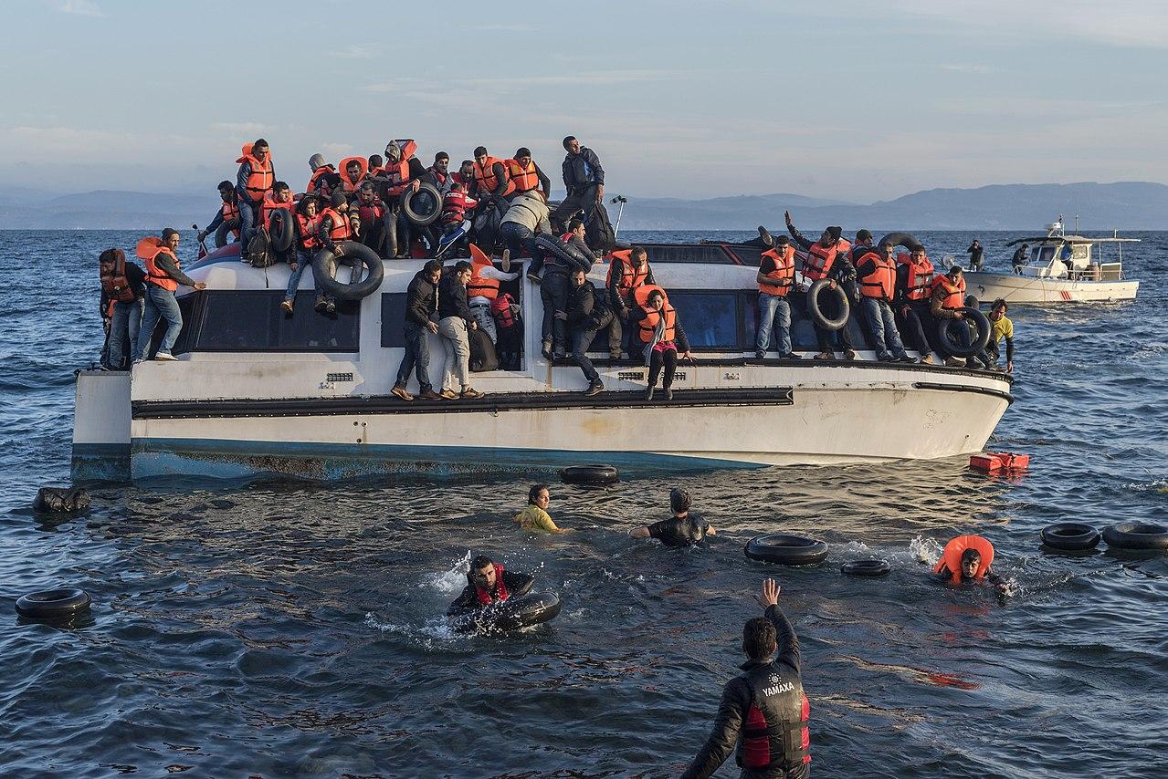 敘利亞難民(圖/Ggia/CC BY-SA 4.0)