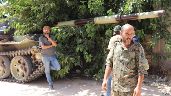 利比亞內戰(圖/VOA/公共領域)