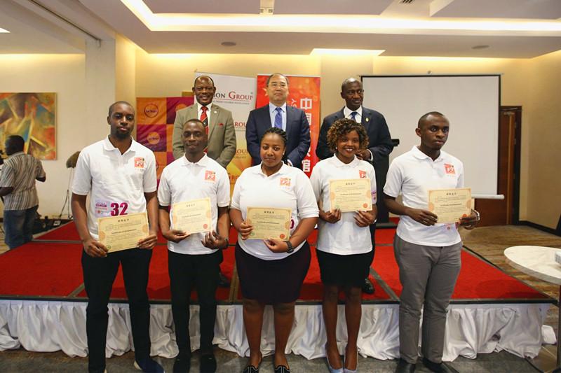 中國在烏干達舉辦漢語競賽(圖/中國駐烏干達大使館)
