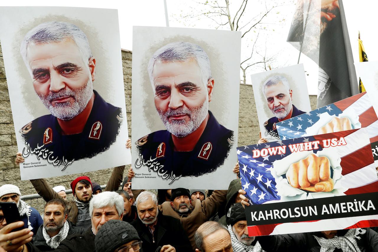 美國擊殺伊朗指揮官蘇雷曼尼,中東緊張遽升(圖/Murad Sezer/達志影像.路透社)