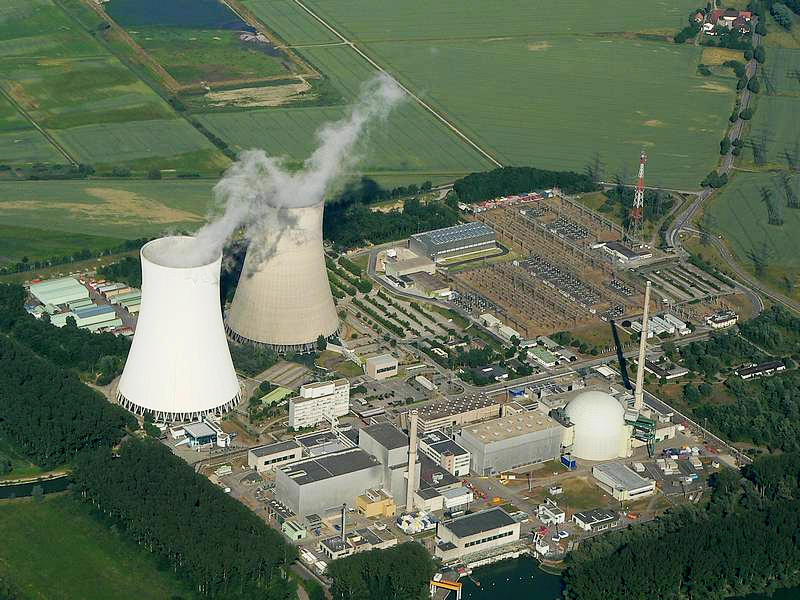菲利普斯堡核電廠(Akw Philippsburg)(圖/Lothar Neumann, Gernsbach/CC BY-SA 2.5)