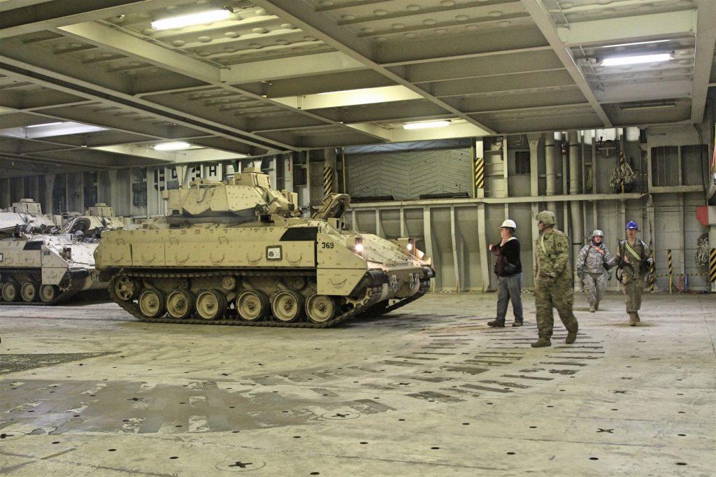 預存於歐陸各區的美軍裝備(圖/美國歐洲司令部)