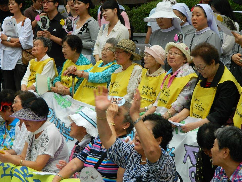 韓國慰安婦抗議(圖/CEPA/CC BY-SA 3.0)