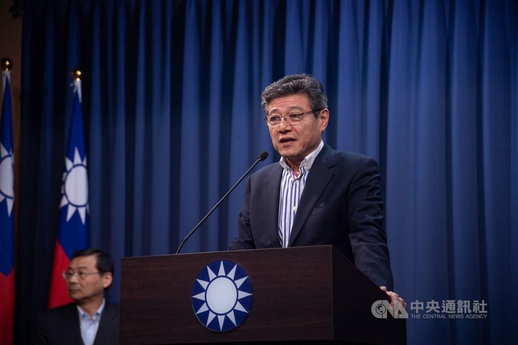 林榮德出任國民黨代理黨主席