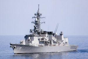 海上自衛隊護衛艦「たかなみ」(圖/jimmyweee/CC BY 2.0)