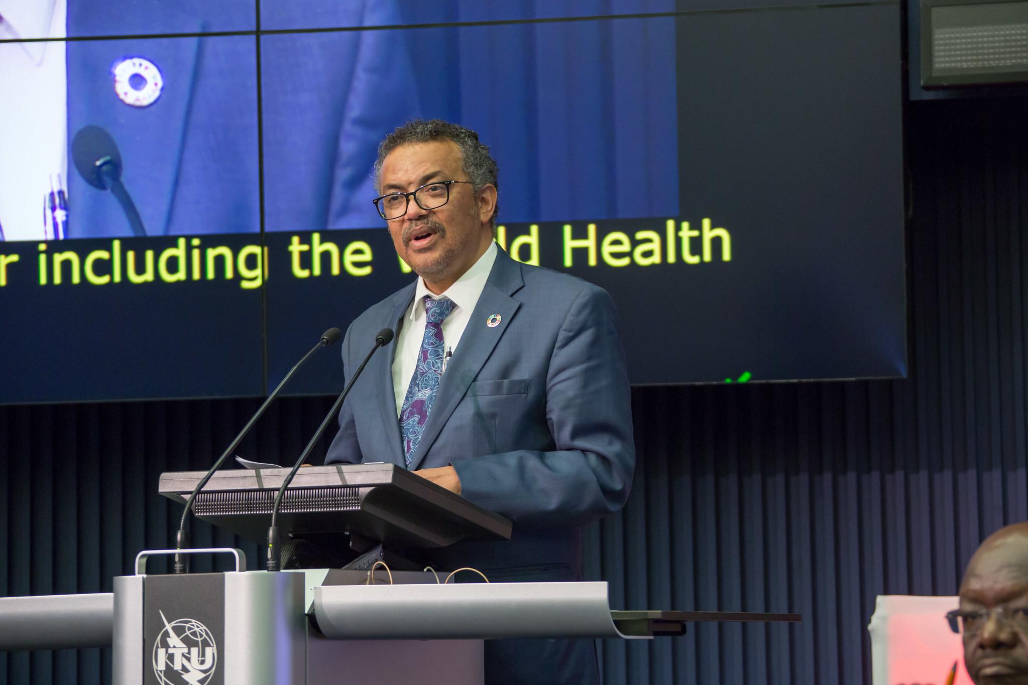WHO總幹事譚賽德(Dr Tedros Adhanom Ghebreyesus)(圖/ITU Pictures/CC BY 2.0)