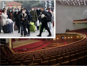武漢肺炎:中國民間拼復工,全國人大和政協拼延期(圖/AcidBomber、中新社/CC BY 3.0/報呱再製)