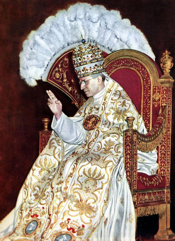 庇護十二世(Pius XII)(圖/維基百科)