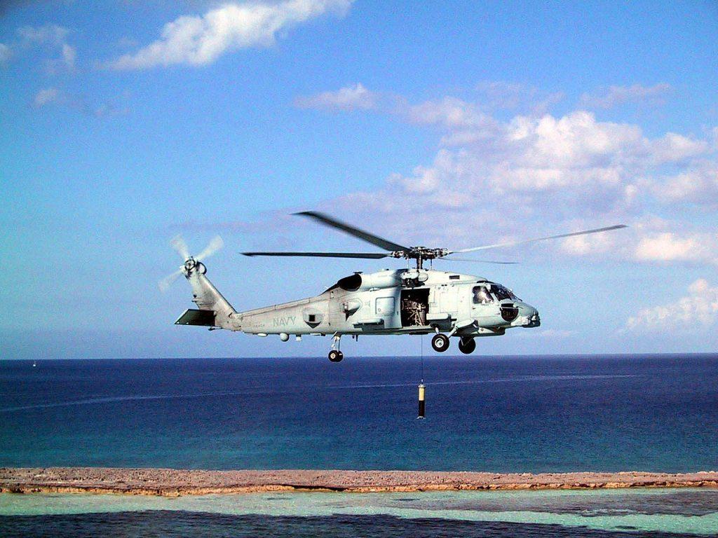MH-60R反潛反艦直升機(圖/U.S. Navy/public domain)