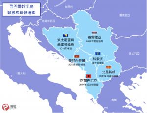 西巴爾幹半島與歐盟