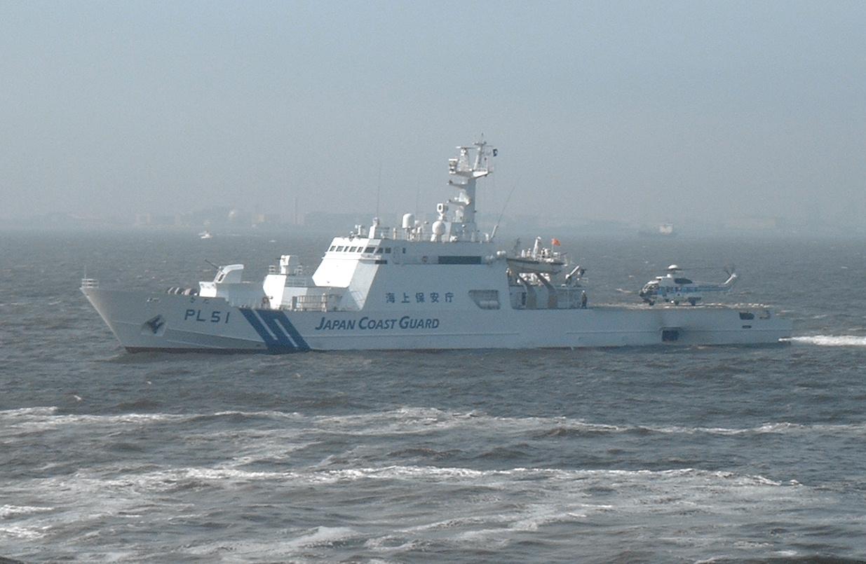 日本海上保安庁大型巡視船(圖/公共領域)