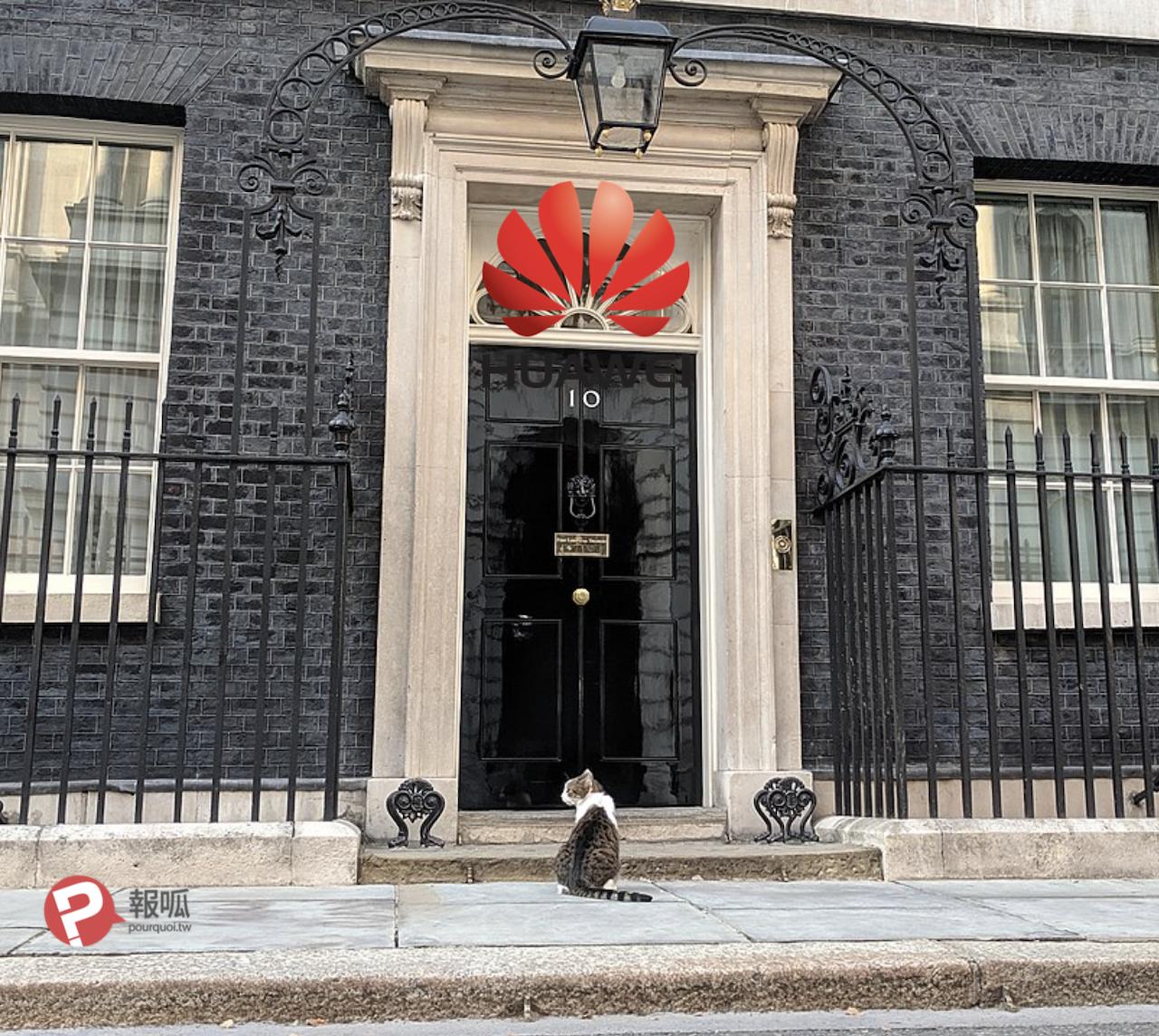 唐寧街 10 號英國首相官邸(圖/Parrot of Doom/ CC BY-SA 4.0/報呱再製)