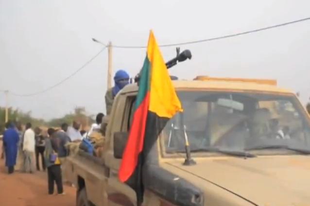 馬利北部叛軍(圖/Idrissa Fall/公共領域)