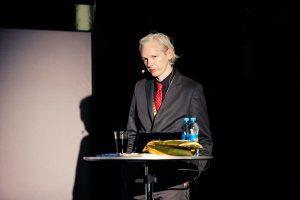 維基解密(WikiLeaks)創辦人亞桑傑Julian Assange(圖/Cancillería del Ecuador/CC BY-SA 2.0)